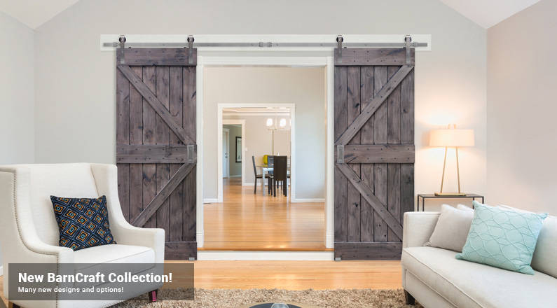 Barncraft doors glasscraft door company for The barn door company