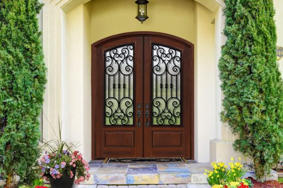 Glcraft Introduces Innovative Composite Arch Lite Double Entry Doors At Standard Pricing